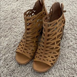 Open toe booties- Vince Camuto